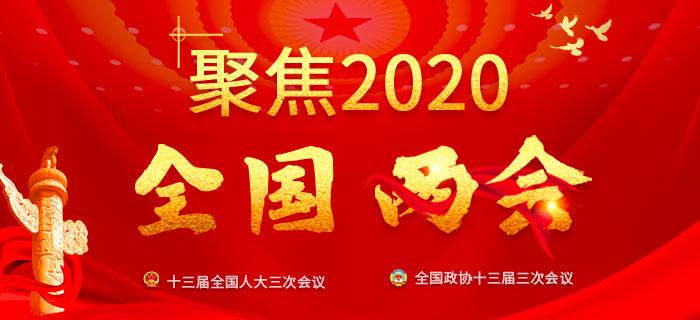 2020全国两会:人大三次会议开幕会